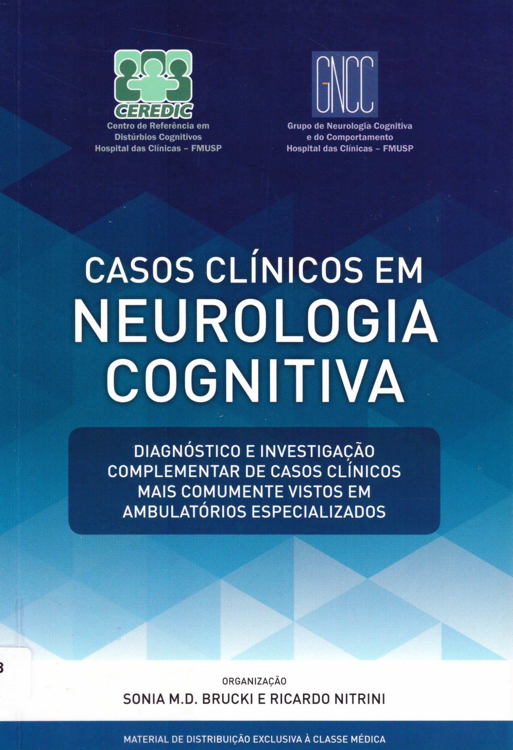 casos clinicos em neurologia cognitiva