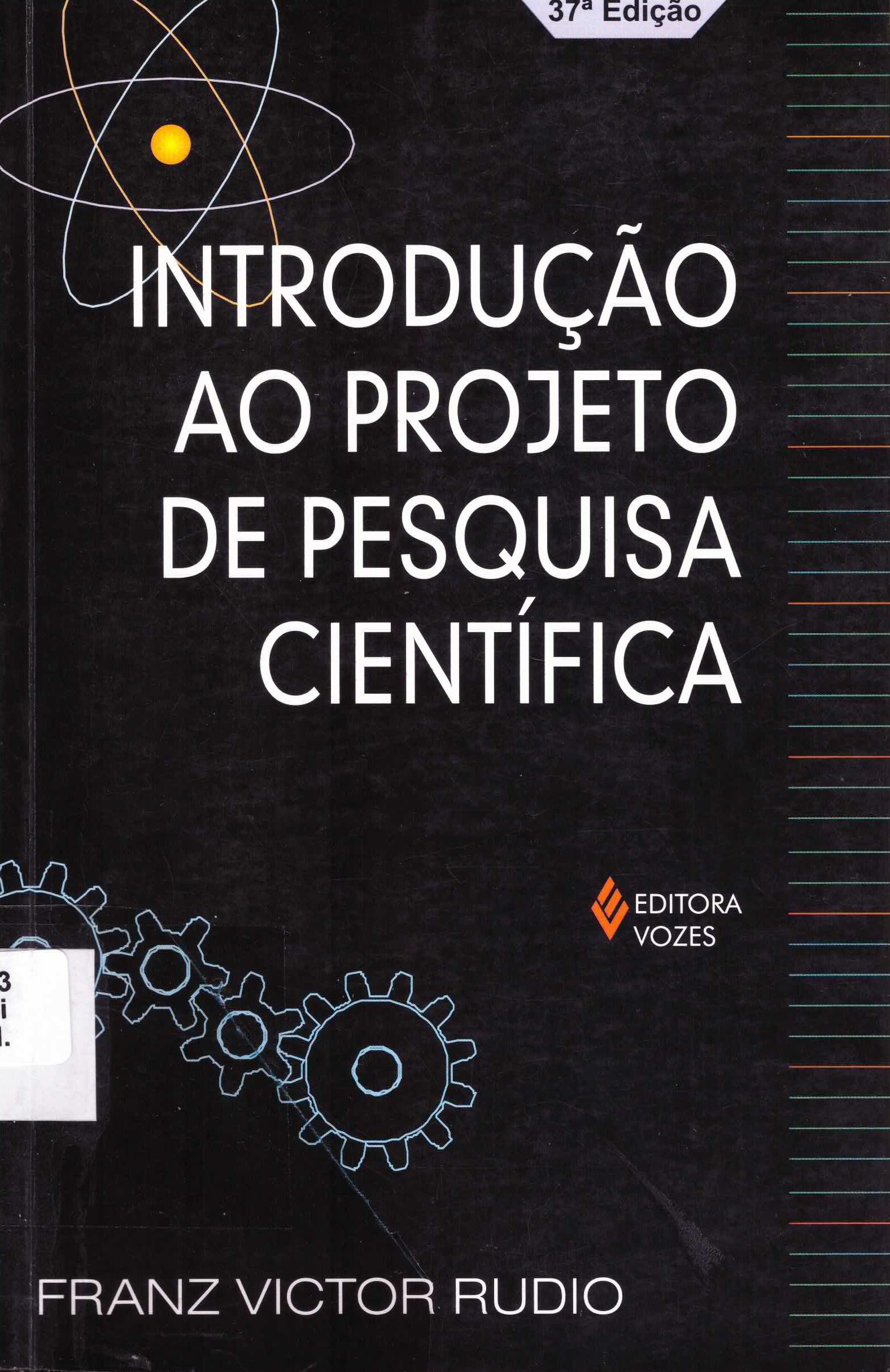 introdução ao projeto de pesquisa científica