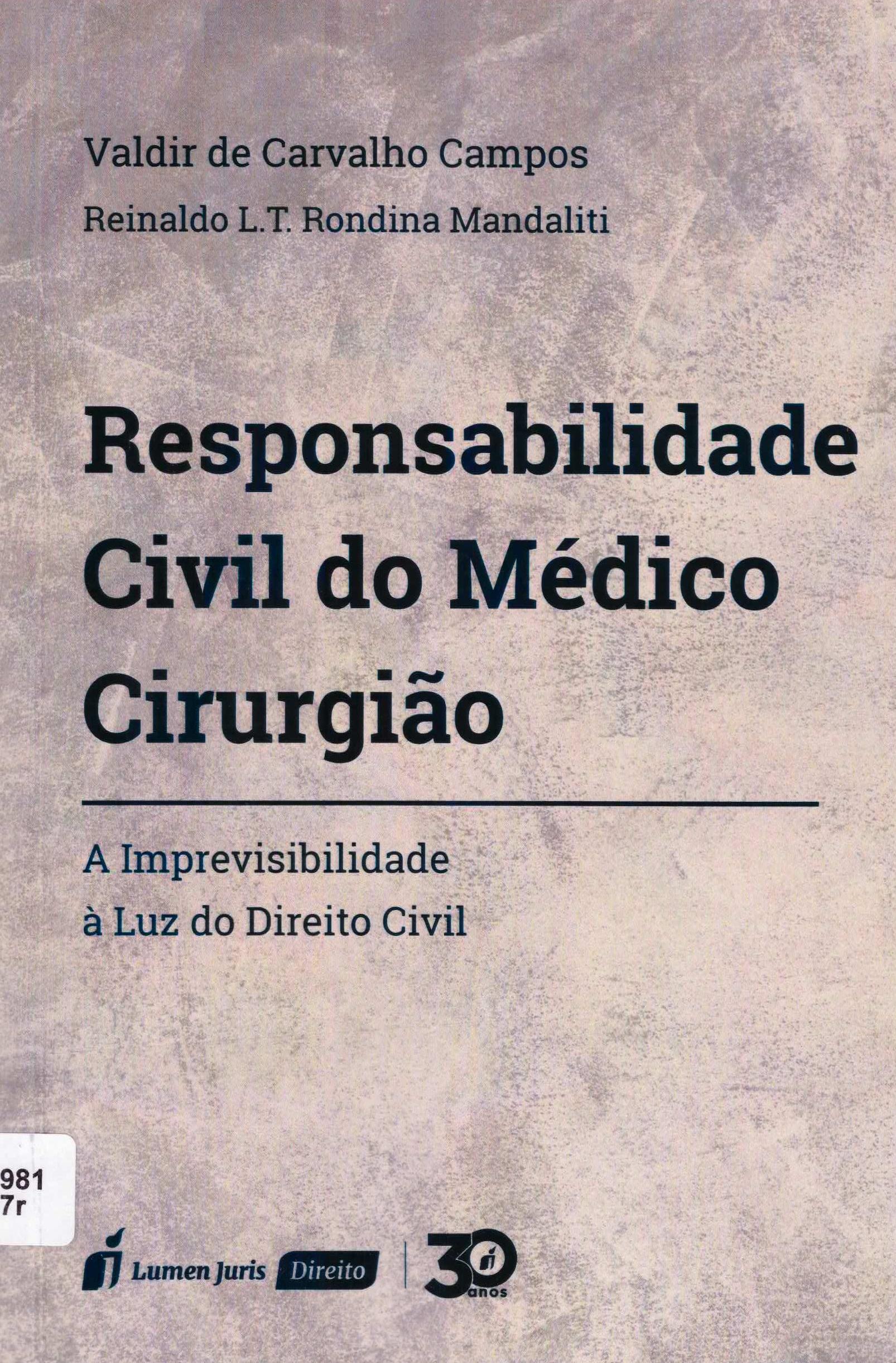 responsabilidade civil do médico cirurgião